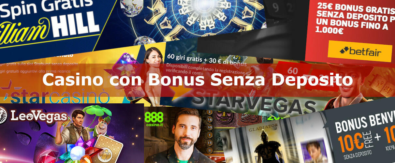 Casinò Online Bonus Senza Deposito