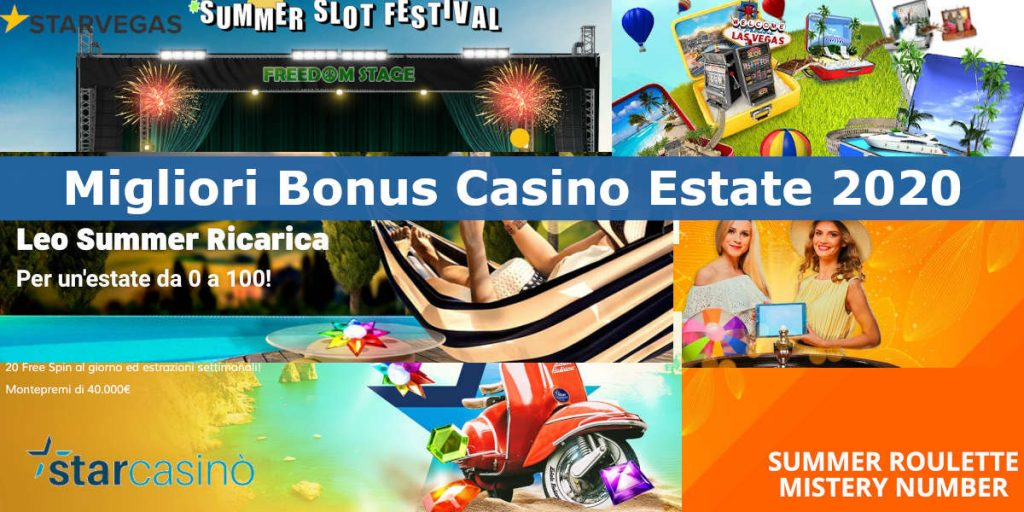 bonus casino estate 2020